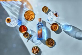 Bombay Sapphire Sunset. Australia, Meet Bombay Sapphire's Sunset New Limited-Edition Gin. Image supplied.