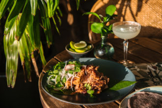 The Butler Potts Point Slow-Cooked Confit Pork Carnitas Recipe. Image supplied.