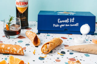 5 Fun Things To Do At Home This Father's Day 2021. Cannoleria DIY Cannoli Kit. Image supplied.