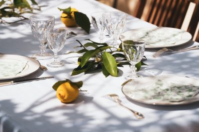 Top 10 Essentials for Alfresco Dining in 2021. Photographed by Guillaume de Germain. Image via Unsplash.